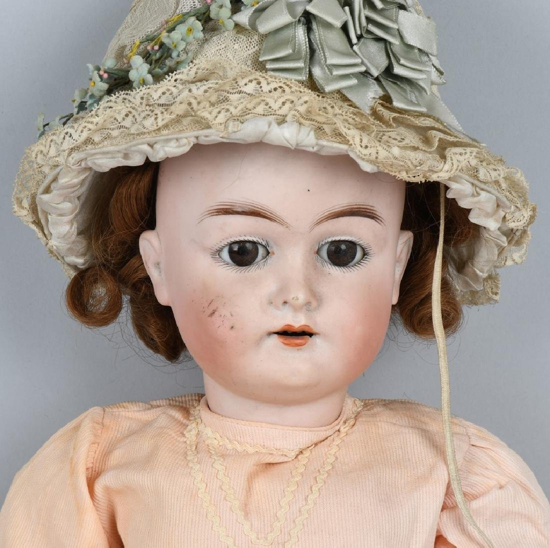 GERMAN KARL HARTMANN BISQUE DOLL - 2