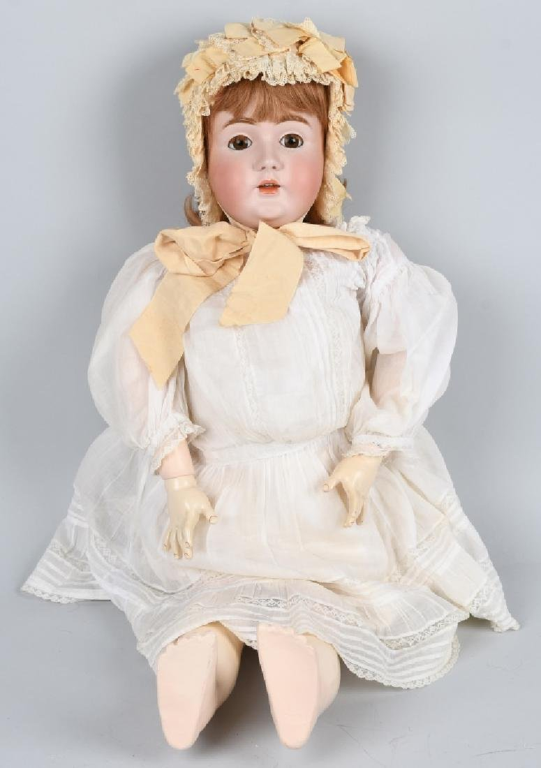 "HUGE KESTNER No. 142, 36"" BISQUE DOLL"