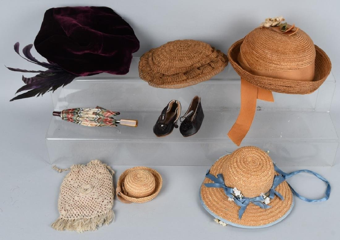 DOLL HATS, UNBRELLA, AND MORE