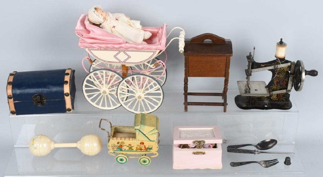 NICE GROUPING OF DOLL ACCESSORIES AND MORE - 2