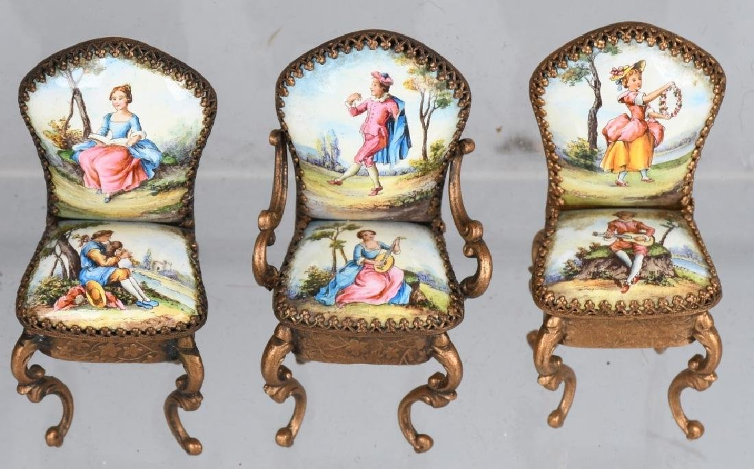 NICE GROUPING OF DOLL FURNITURE - 4