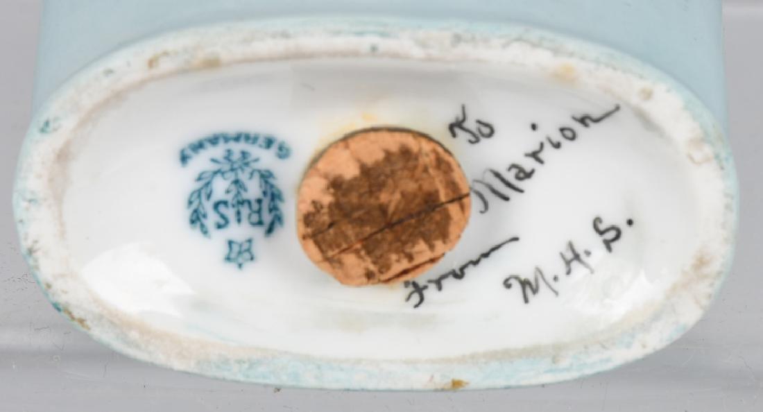 HALF DOLL, GERMAN POWDER JAR AND MORE - 8