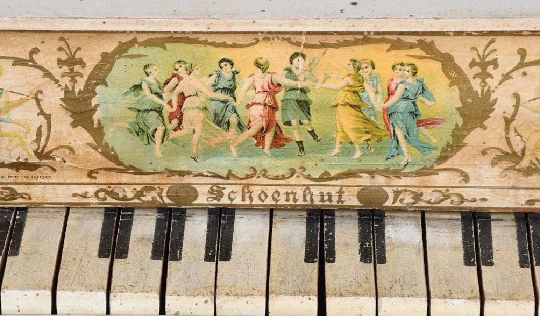 TWO SCHOENHUT PIANO'S - 3