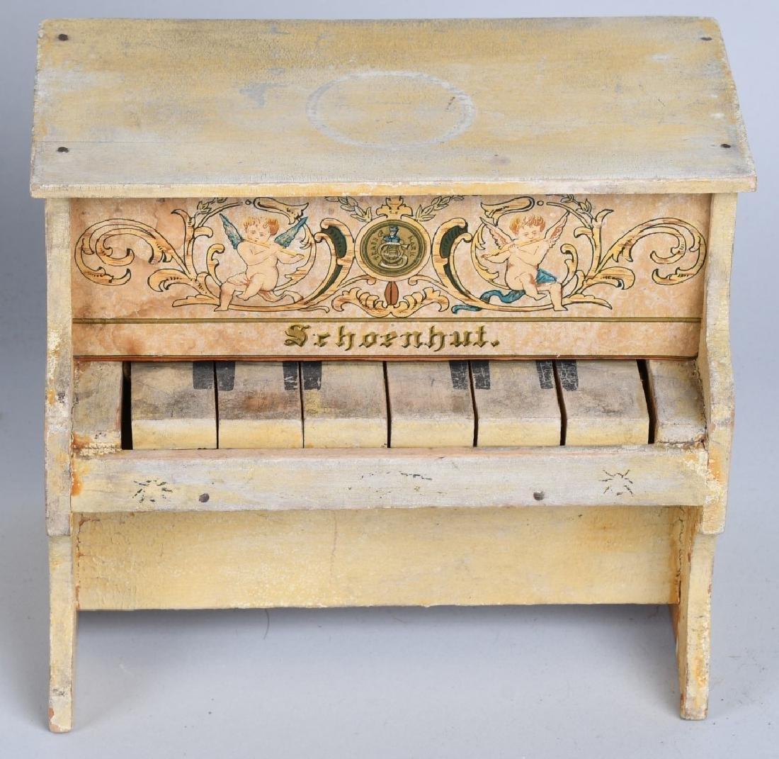 TWO SCHOENHUT PIANO'S - 4