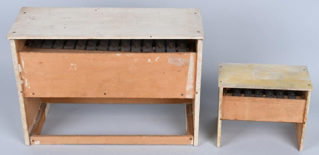 TWO SCHOENHUT PIANO'S - 5