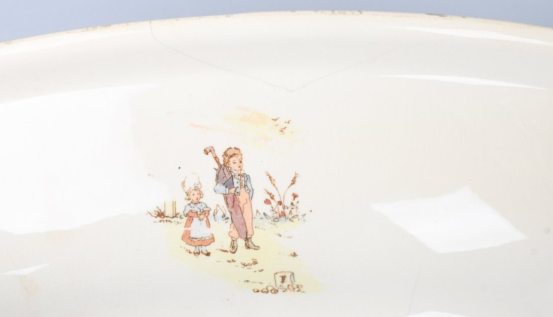 FRENCH KATE GREENAWAY CHILD's WASH STAND - 7
