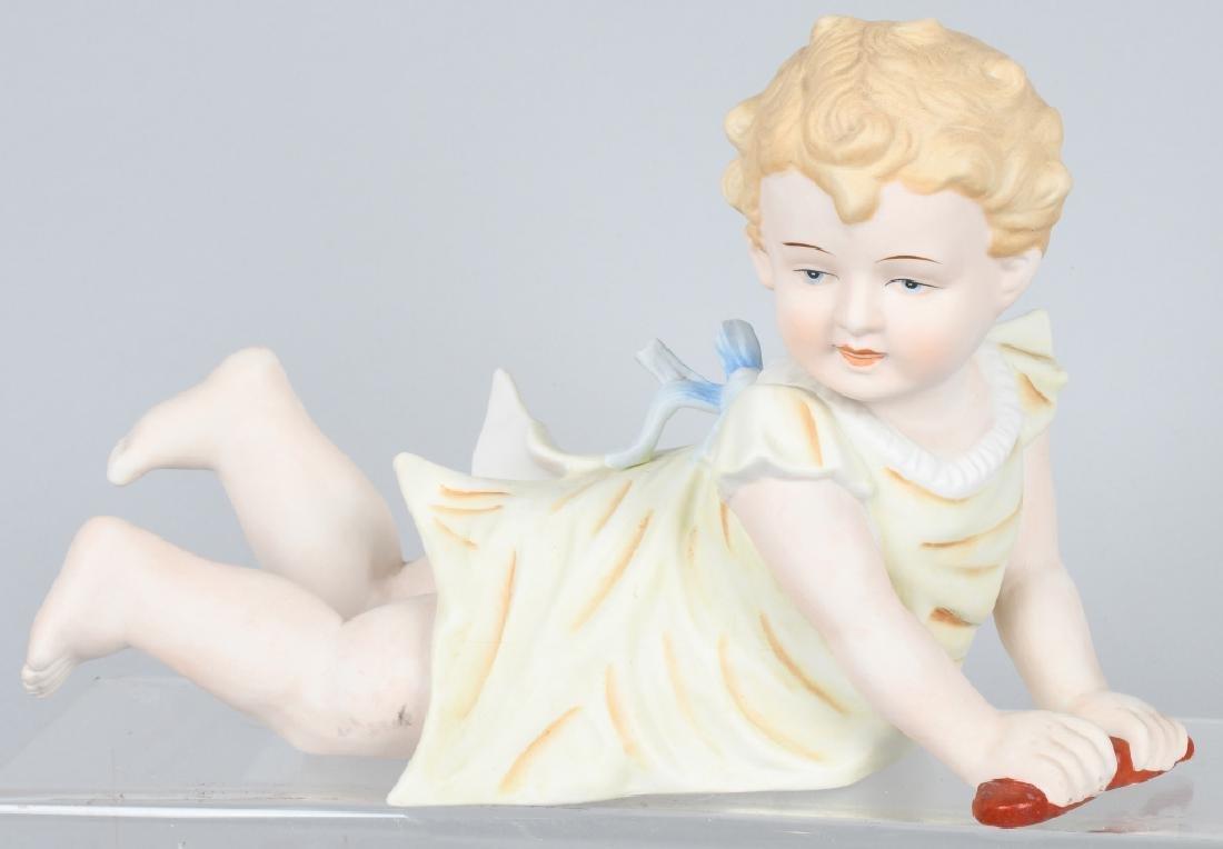 2-HUEBACH BISQUE PIANO BABIES - 2