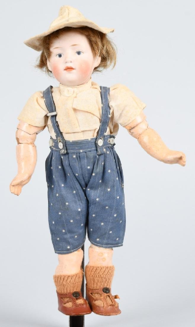 GERMAN HEUBACH CHARACTER 6970 BISQUE DOLL