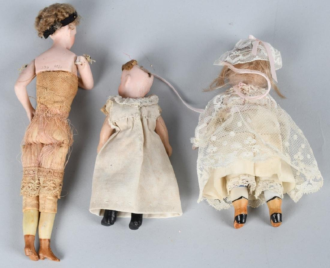 GERMAN MINIATURE BISQUE DOLLS & MORE - 8