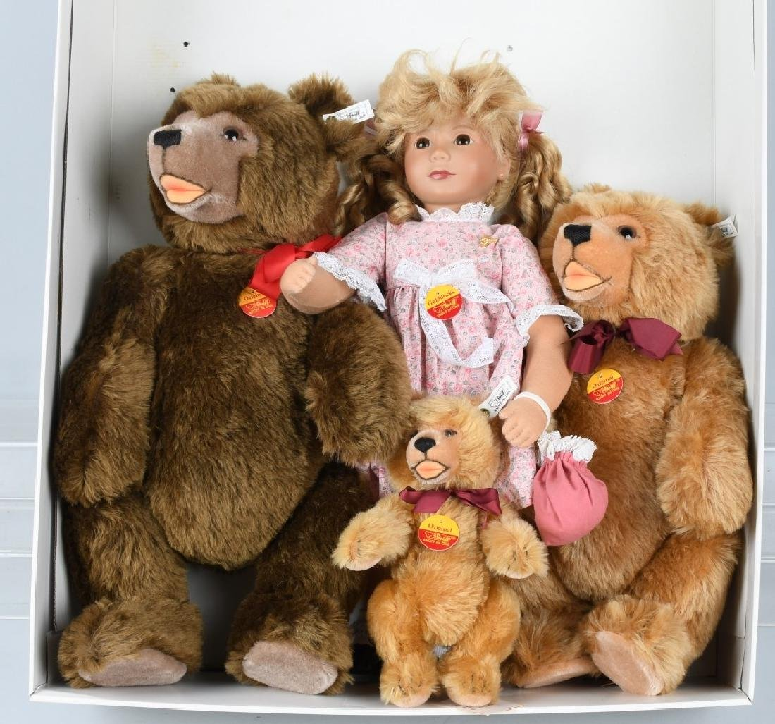 STEIFF GOLDILOCKS L.E. SET