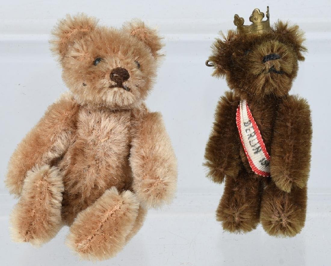 TWO SCHUCO BEARS 1950's