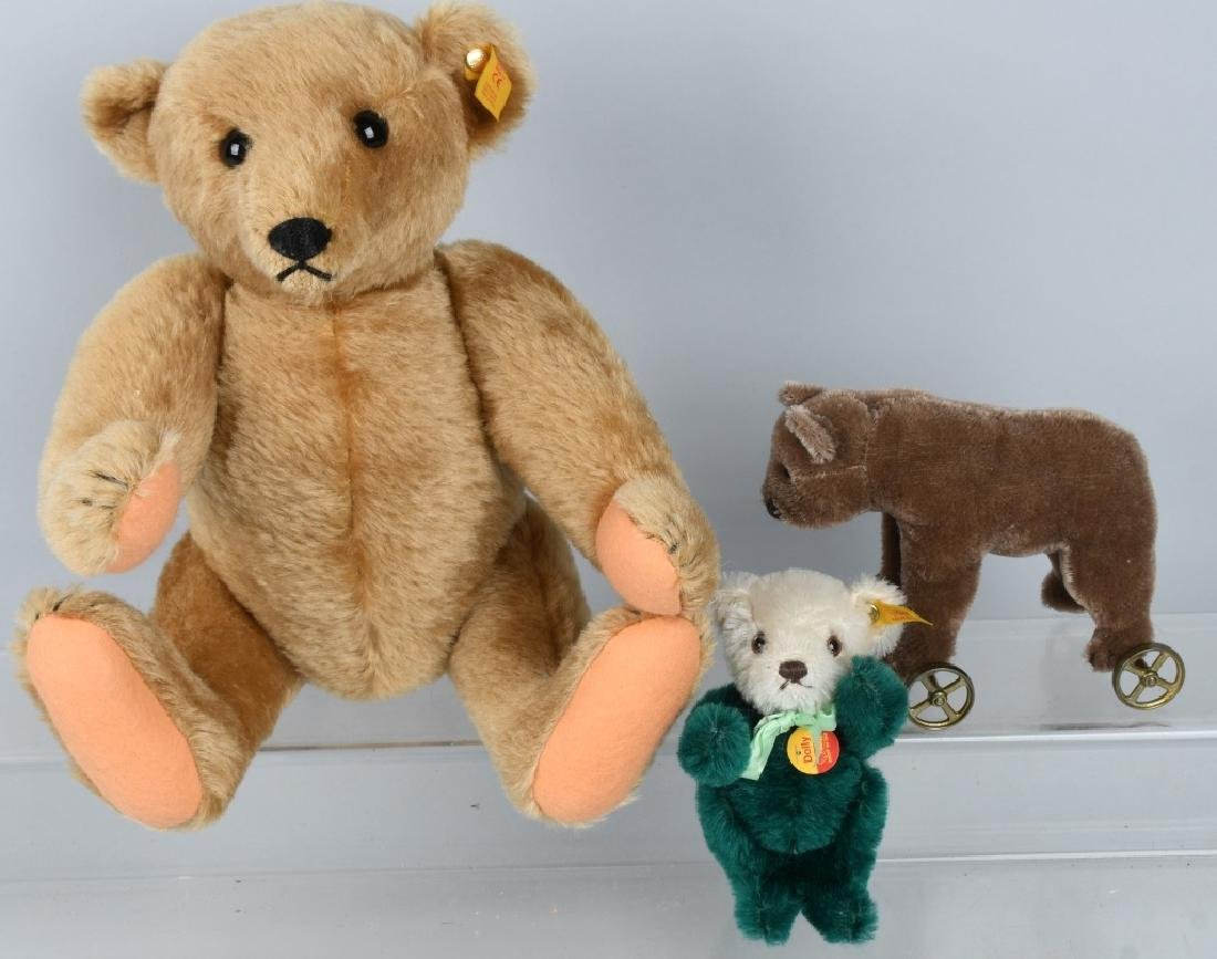 THREE STEIFF BEARS