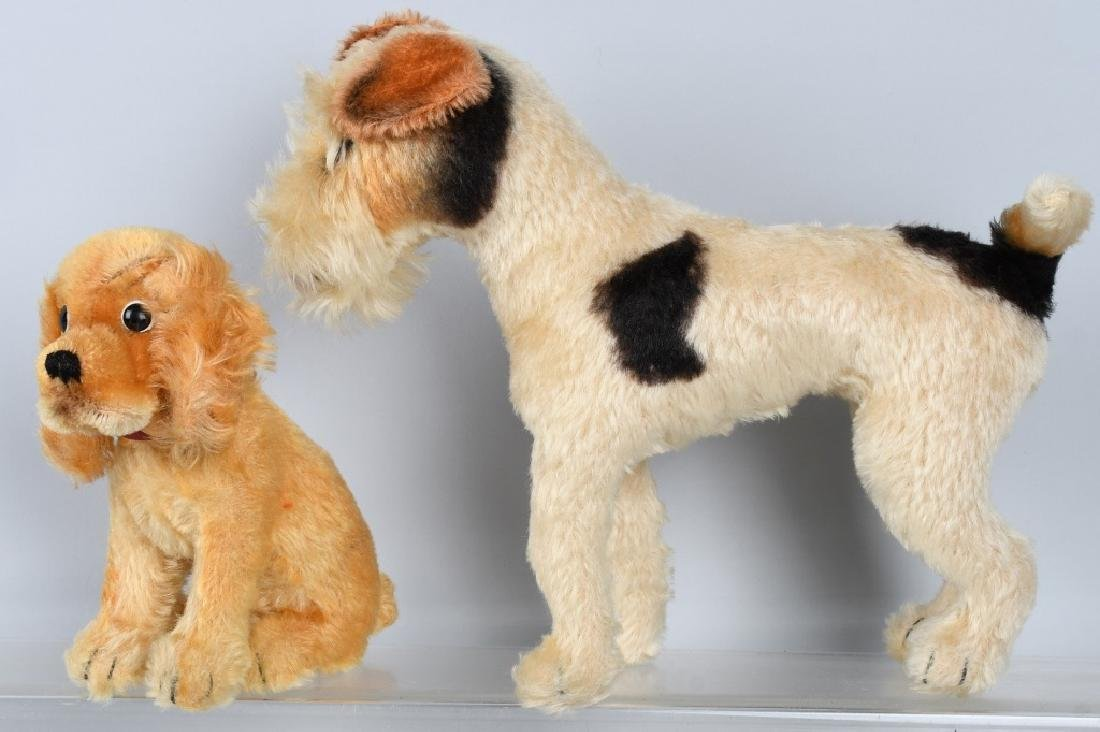 STEIFF SUZI AND FOXY DOGS