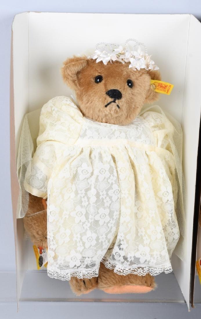 STEIFF GROOM, BRIDE, RING BEAR, AND FLOWER BEAR - 4