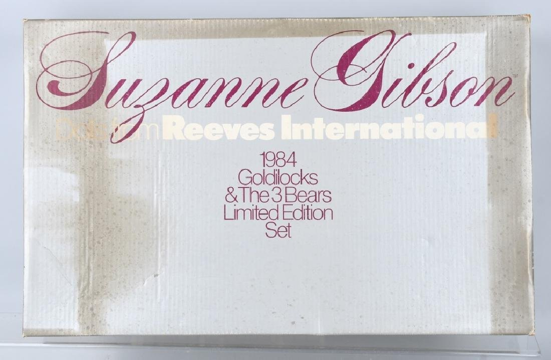 STEIFF Suzanne-Gibson GOLDILOCKS & 3 BEAR SET - 6