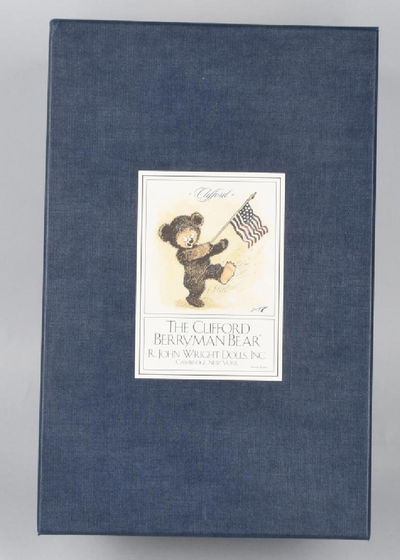 R. JOHN WRIGHT THE CLIFFORD BERRYMAN BEAR - 5