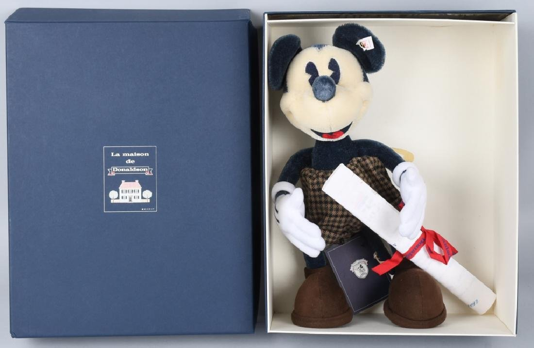 """Steiff Mickey Mouse """"La Maison De Donaldson"""