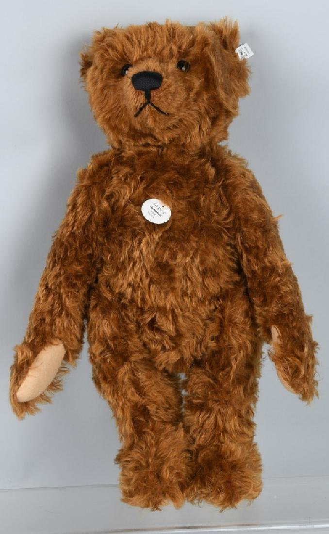 STEIFF TEDDY BEAR 1905 RED BROWN 50 REPLICA - 2