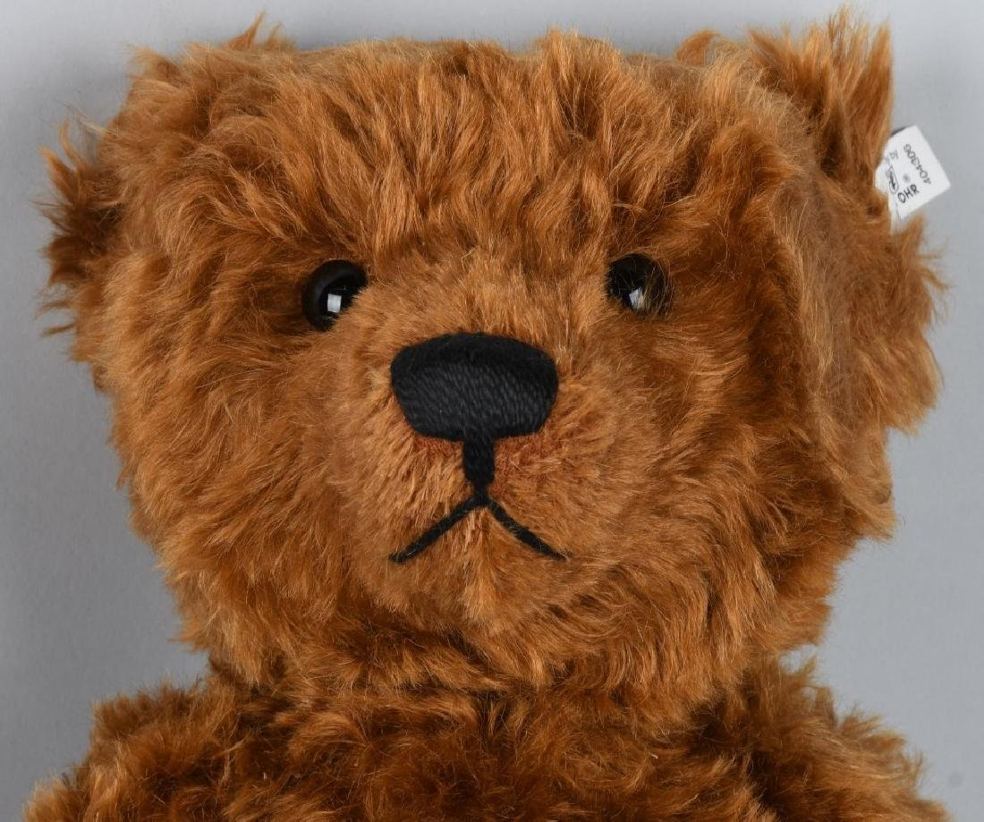 STEIFF TEDDY BEAR 1905 RED BROWN 50 REPLICA - 3