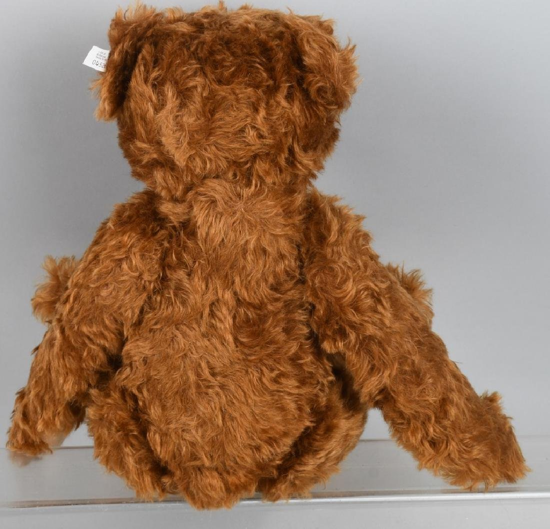 STEIFF TEDDY BEAR 1905 RED BROWN 50 REPLICA - 4