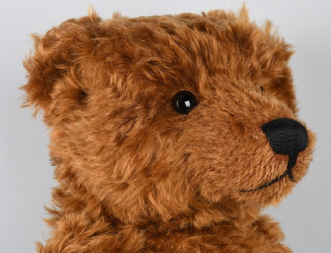 STEIFF TEDDY BEAR 1905 RED BROWN 50 REPLICA - 5