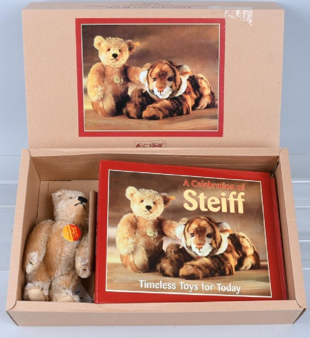 TEDDY BEAR BLOND W/ CELEBRATION OF STEIFF BOOK