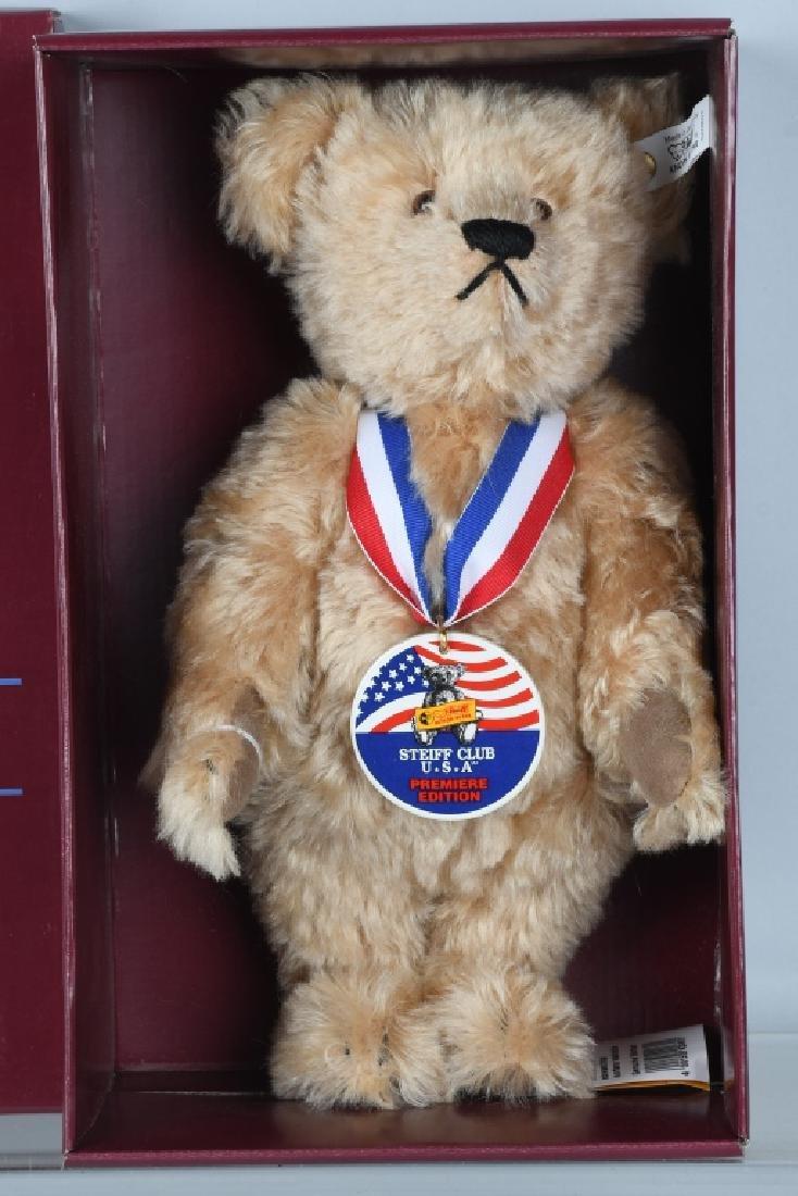 STEIFF CLUB BEAR PREMIERE SAM TEDDY BEAR - 2
