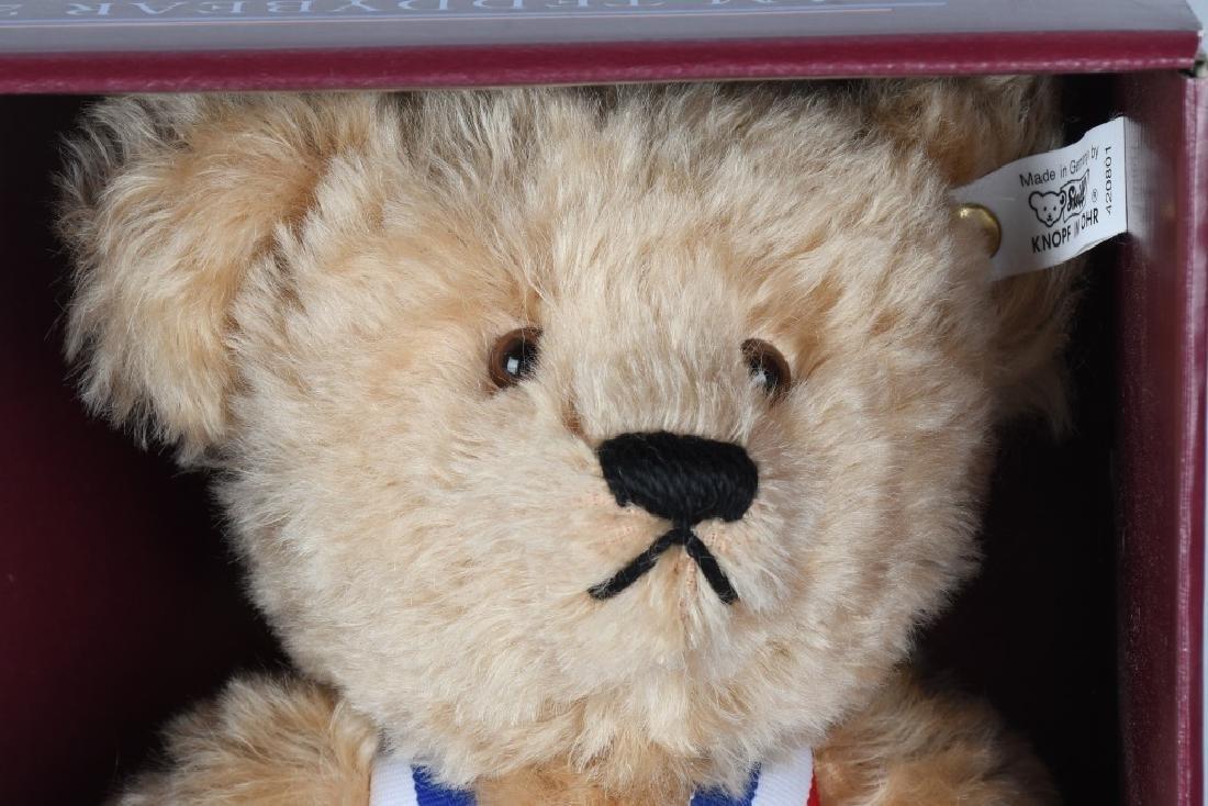 STEIFF CLUB BEAR PREMIERE SAM TEDDY BEAR - 3
