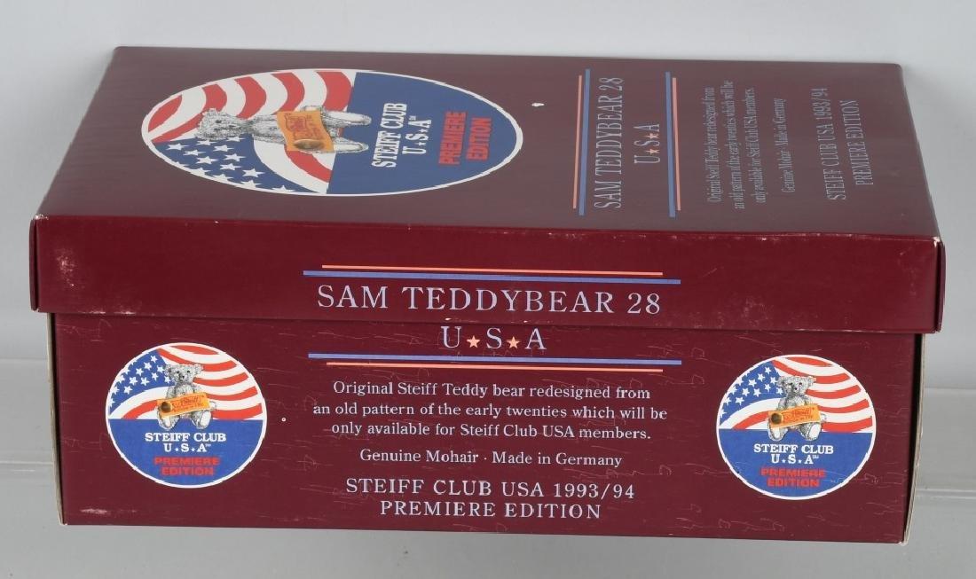 STEIFF CLUB BEAR PREMIERE SAM TEDDY BEAR - 5