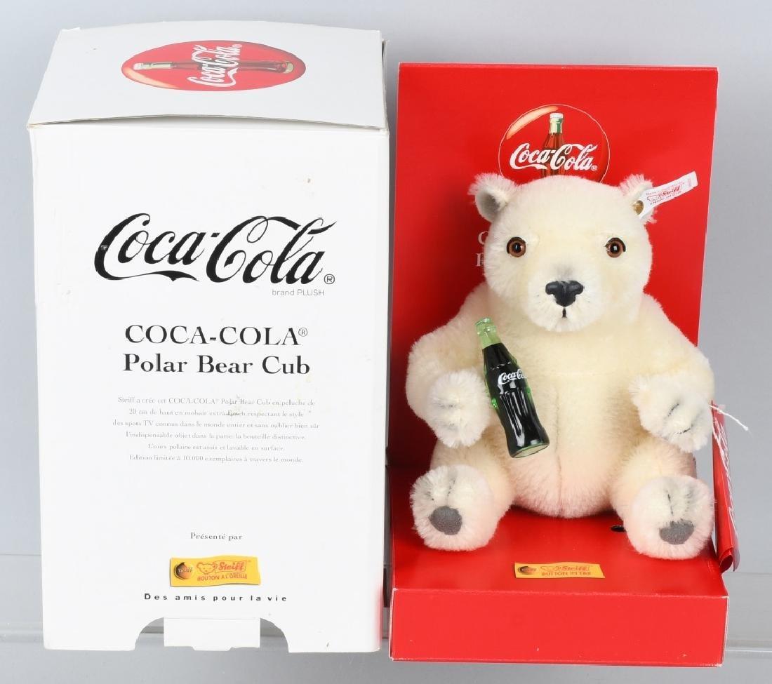 STEIFF COCA COLA BEAR CUB