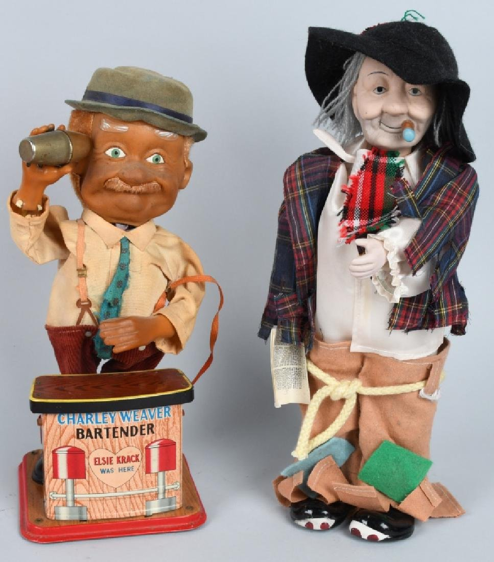 CHARLIE WEAVER & RED SKELTON DOLL