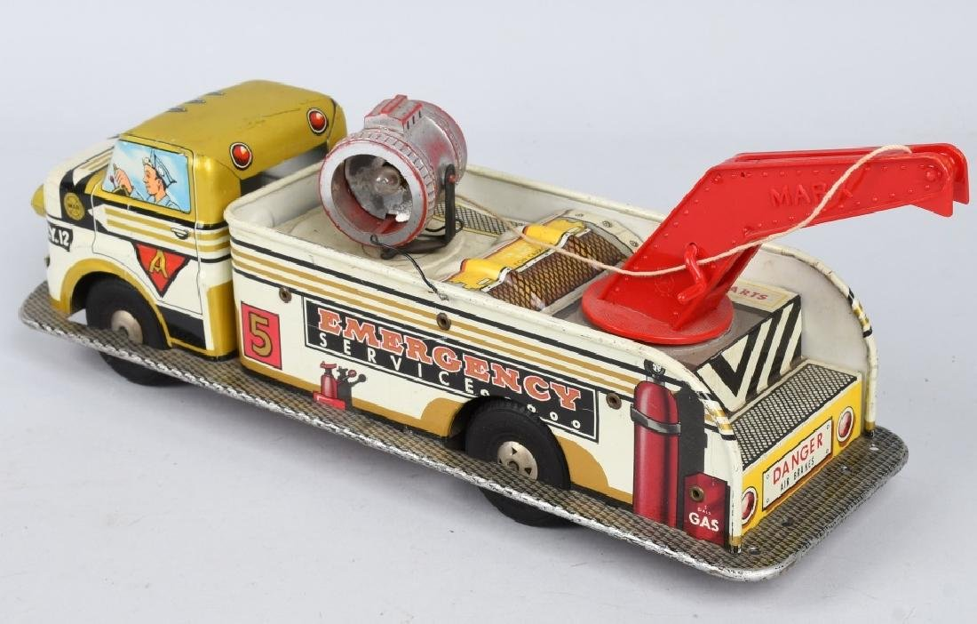 MARX Friction EMERGENCY SERVICE TOW TRUCK - 2