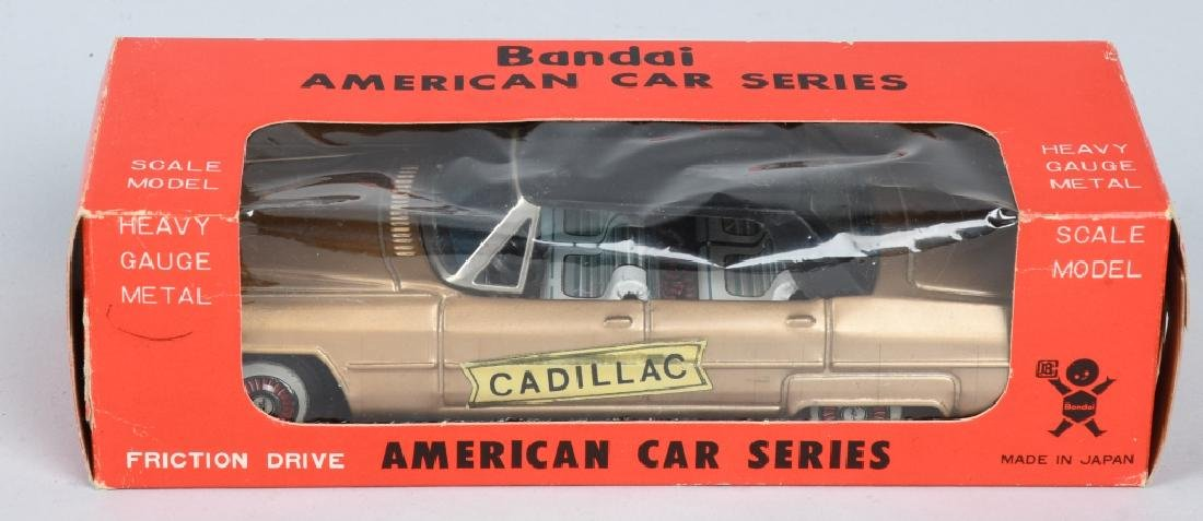 BANDAI Tin Friction CADILLAC w/ BOX - 5