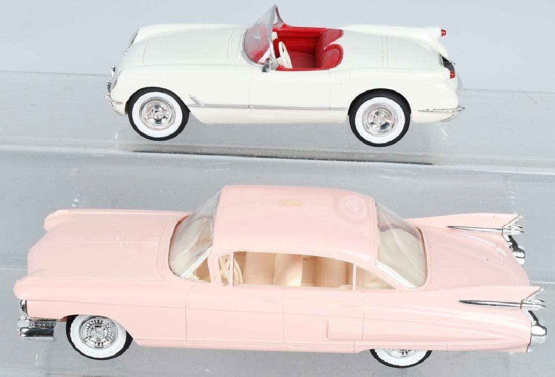 JO HAN 1959 CADILLAC & 1953 CORVETTE PROMO CARS