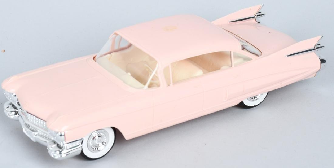 JO HAN 1959 CADILLAC & 1953 CORVETTE PROMO CARS - 2