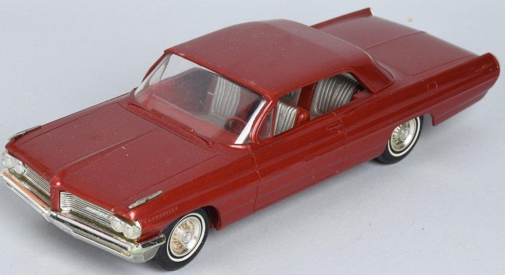 AMT 1962 PONTIAC BONNEVILLE PROMO CAR - 2
