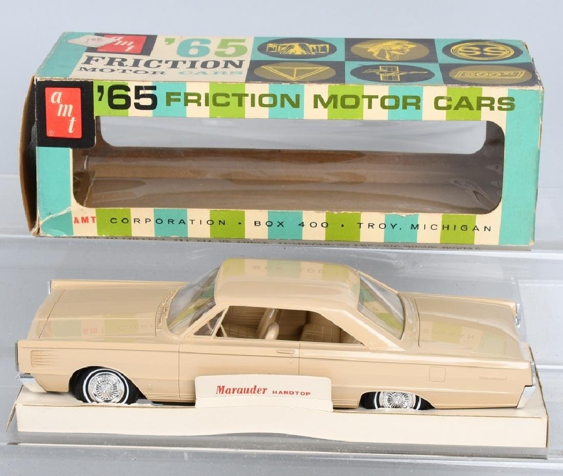 AMT 1965 MARCURY MARAUDER FRICTION PROMO CAR