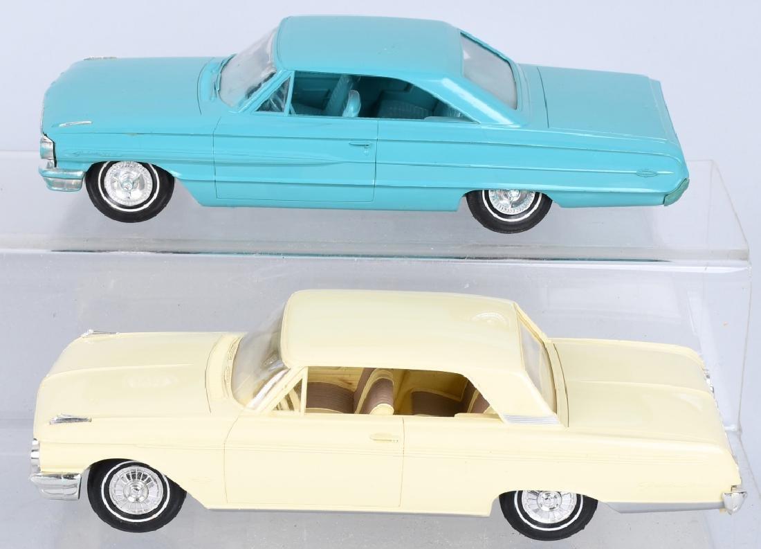 1962 FORD FAIRLANE & 1964 GALAXIE PROMO CARS