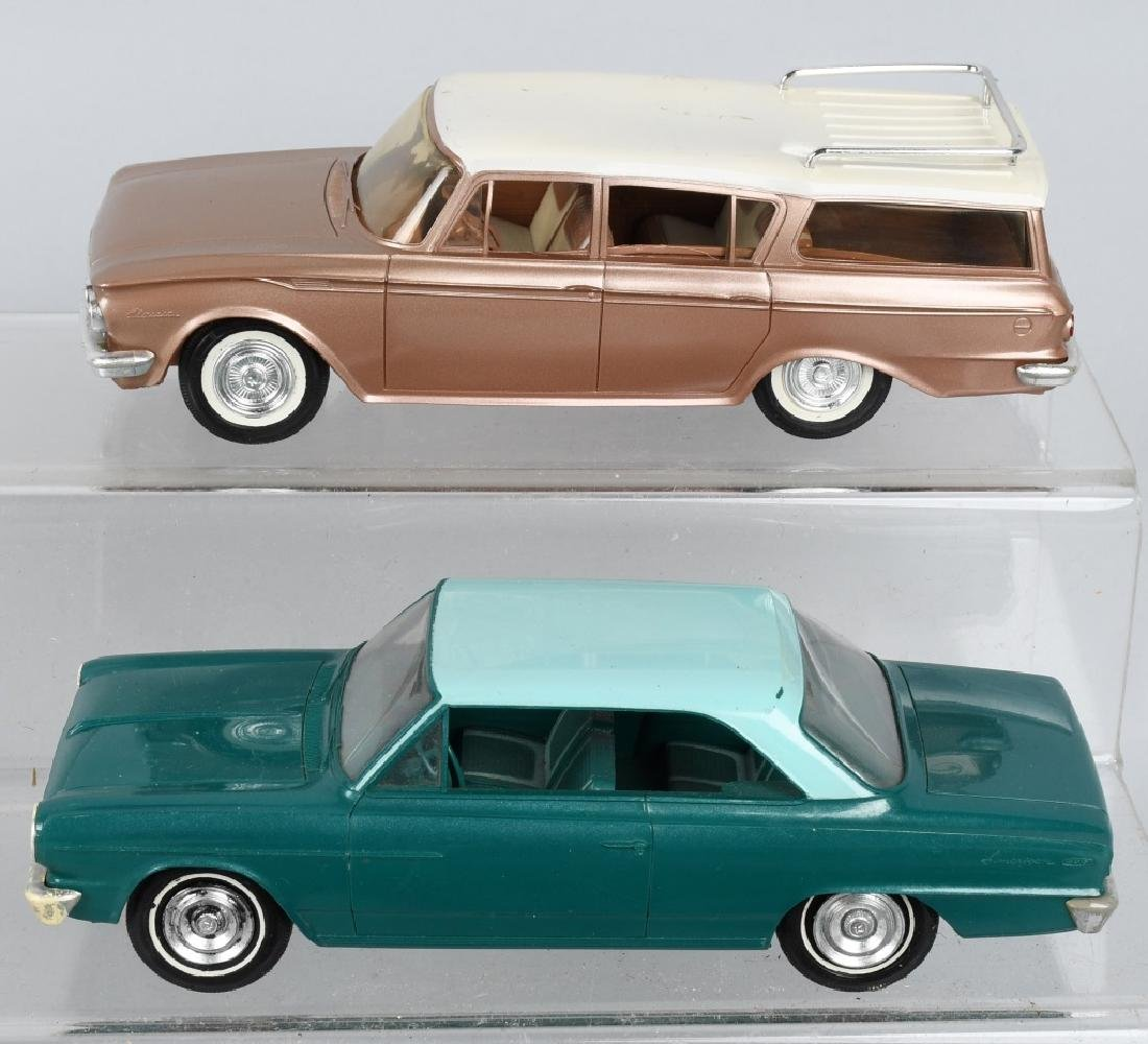 1962 RAMBLER CROSS COUNTRY & 1964 RAMBLER PROMOS