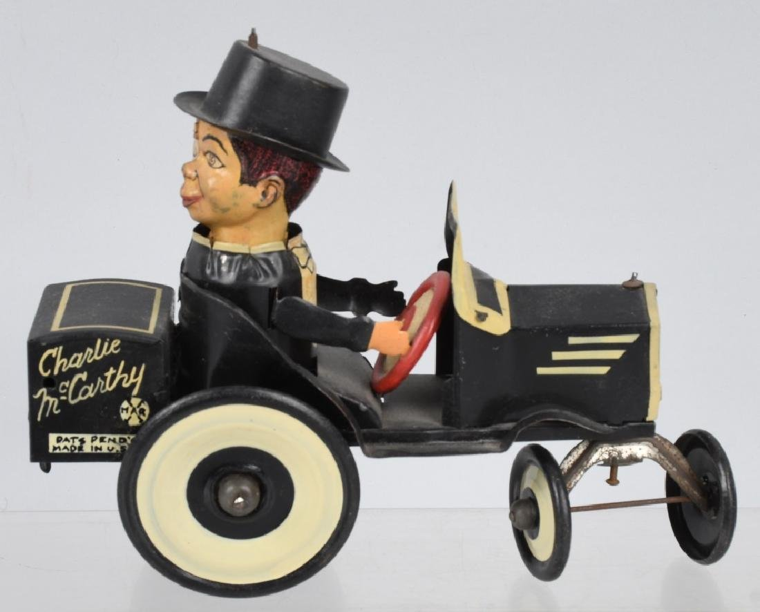 MARX CHARLIE McCARTHY BUGGY & POPEYE WITH PARROTS - 4