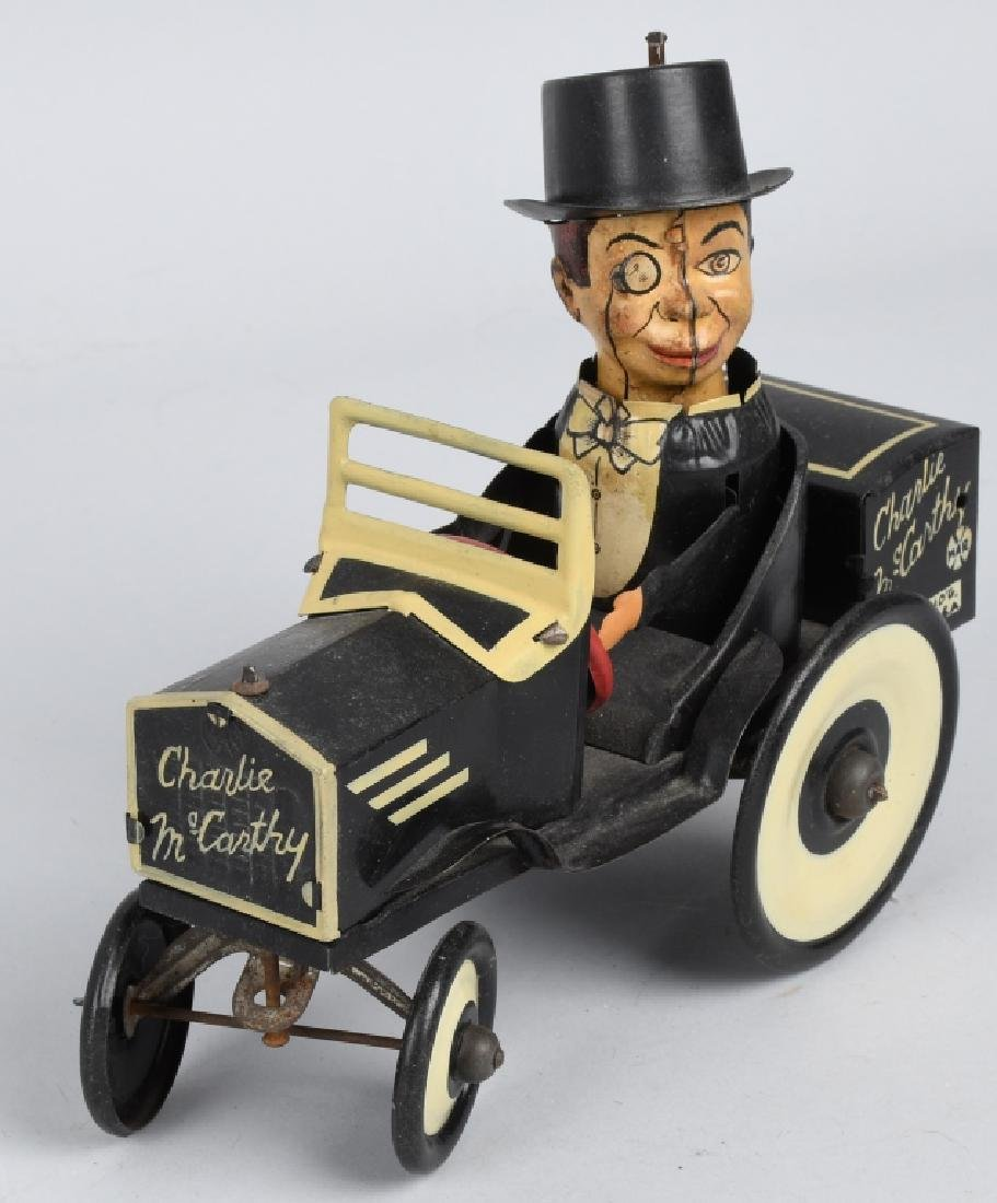 MARX CHARLIE McCARTHY BUGGY & POPEYE WITH PARROTS - 5