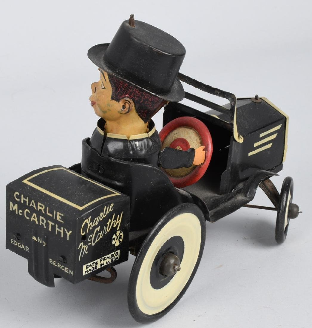 MARX CHARLIE McCARTHY BUGGY & POPEYE WITH PARROTS - 6