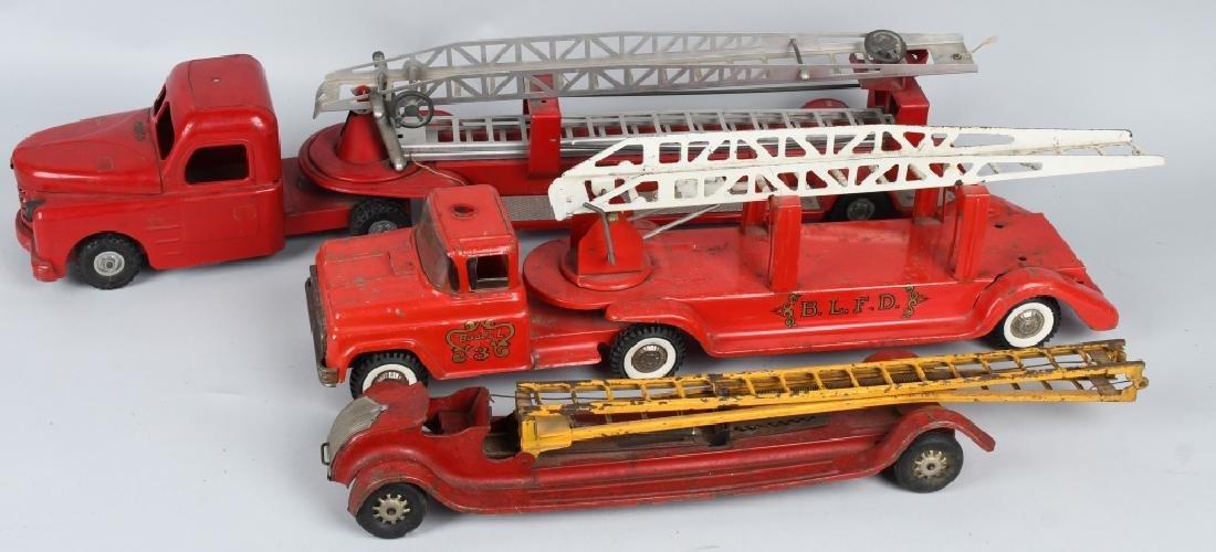 3- VINTAGE FIRE TRUCKS