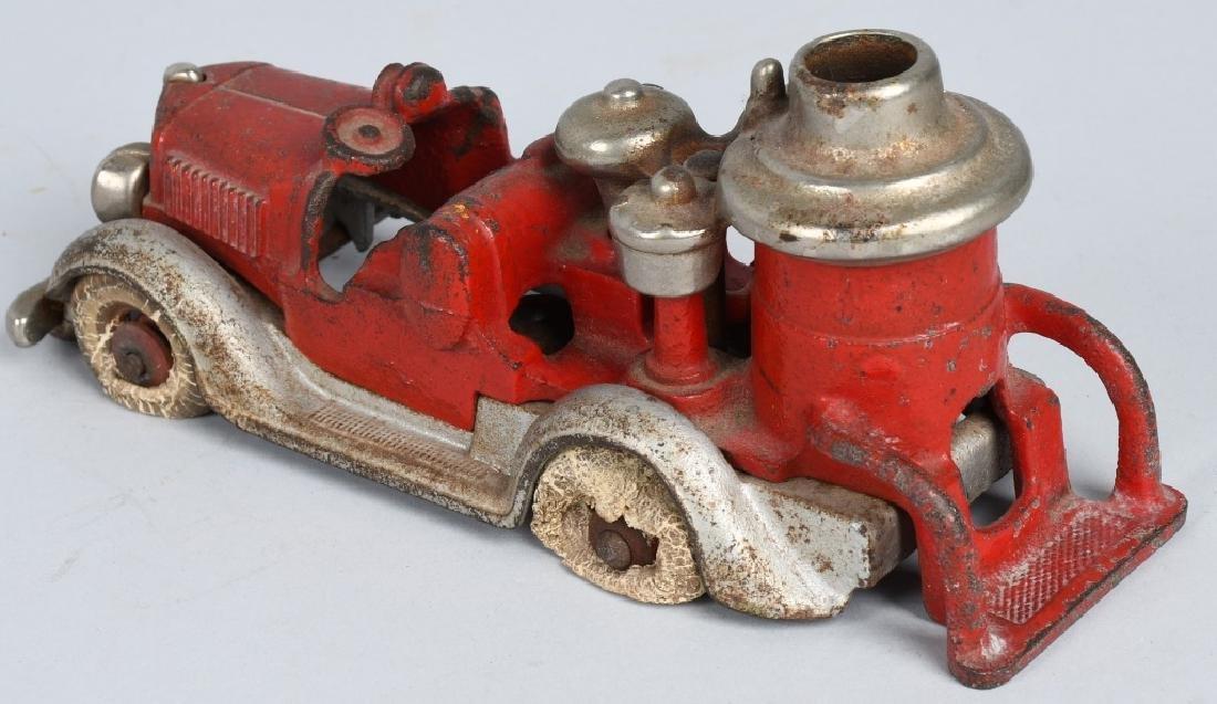 HUBLEY CAST IRON BOILER FIRE TRUCK. - 3