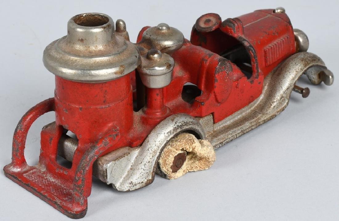 HUBLEY CAST IRON BOILER FIRE TRUCK. - 4