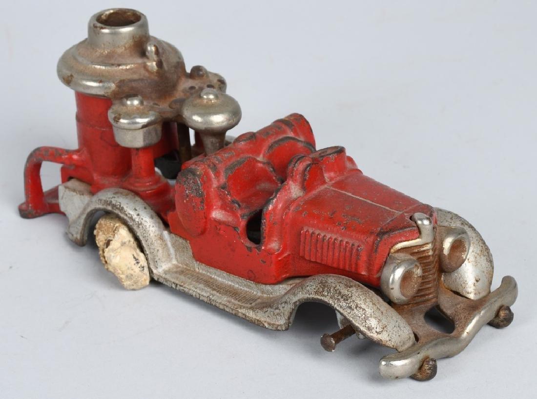 HUBLEY CAST IRON BOILER FIRE TRUCK. - 5