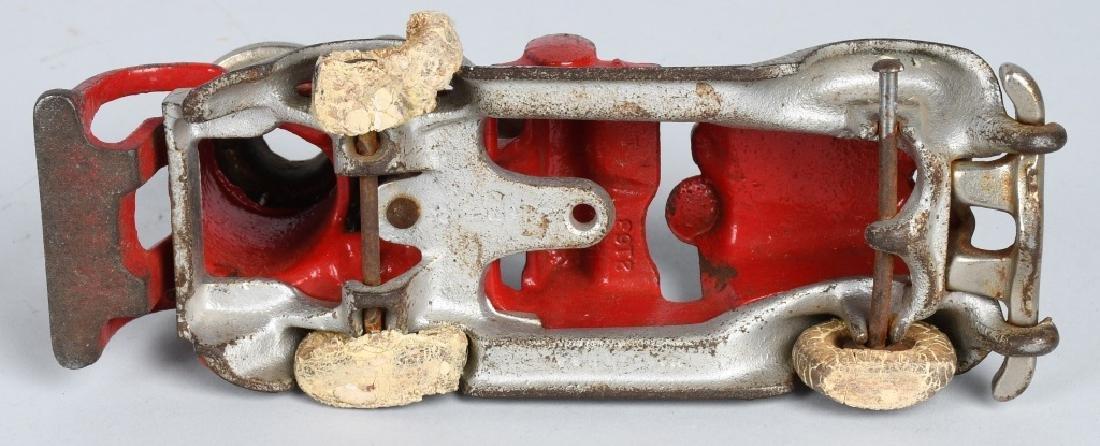 HUBLEY CAST IRON BOILER FIRE TRUCK. - 6