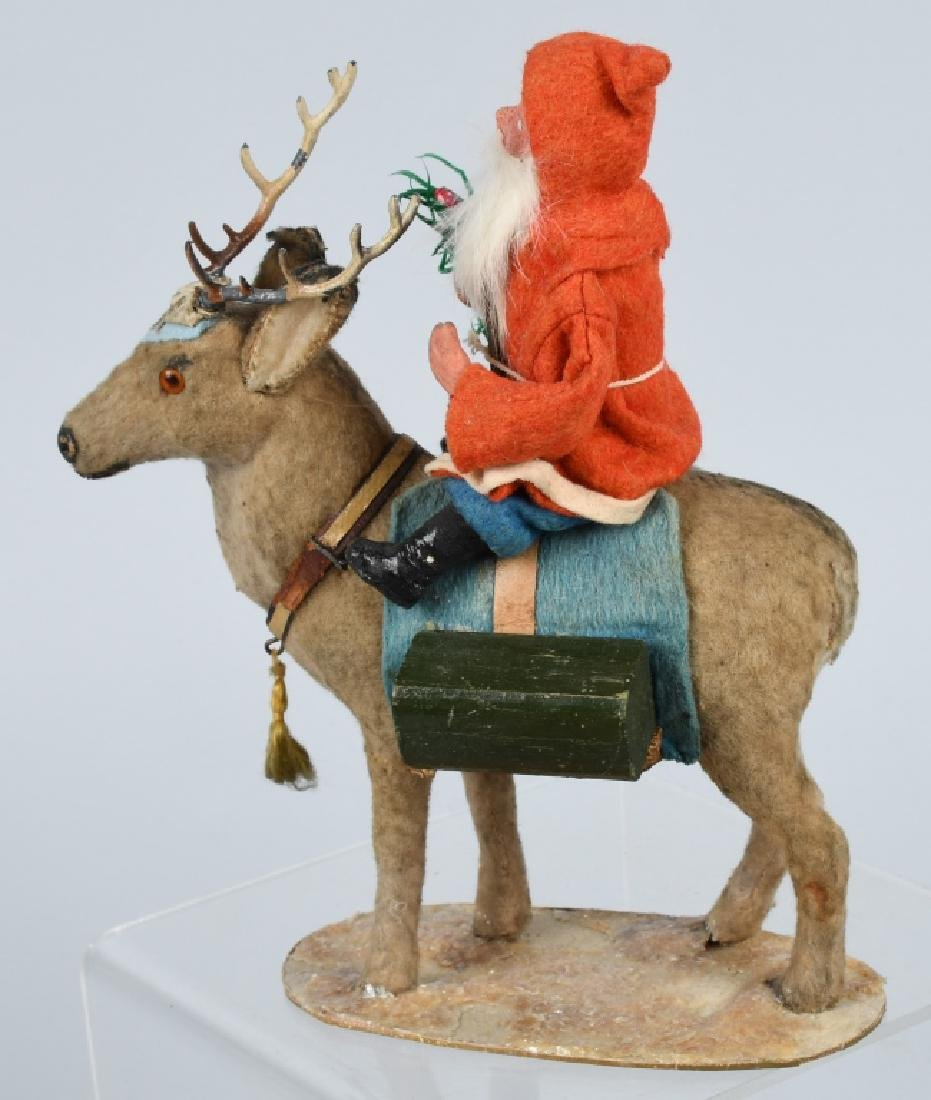 GERMAN SANTA CLAUS RIDING REINDEER - 2