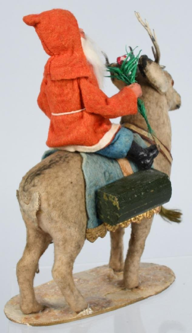 GERMAN SANTA CLAUS RIDING REINDEER - 3