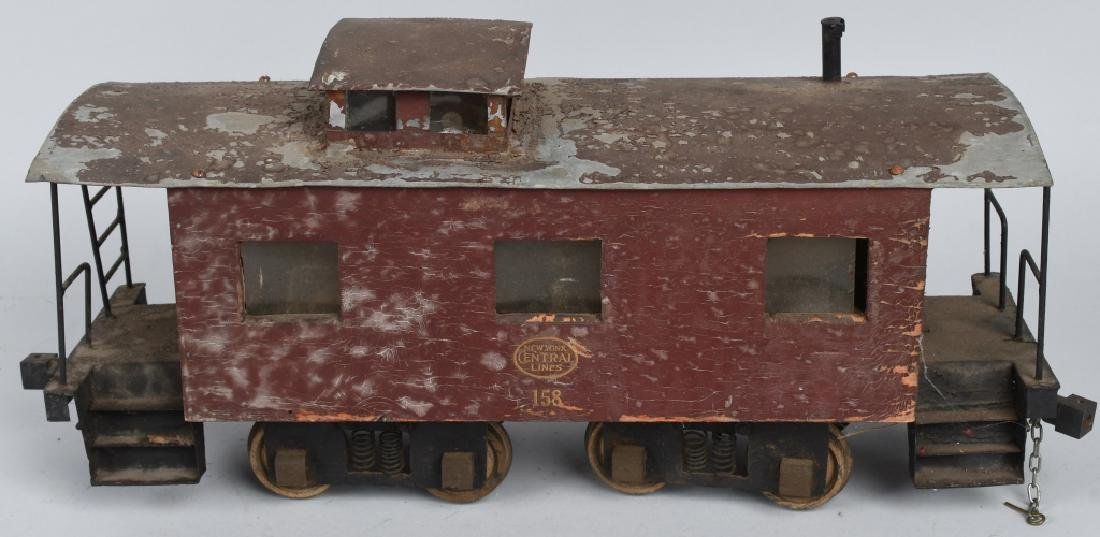 NYC LINE #158 SCRATCH BUILT CABOOSE - 3